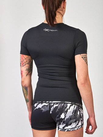 Kompresyjny T-shirt damski model NEO CAMO marki Leone1947