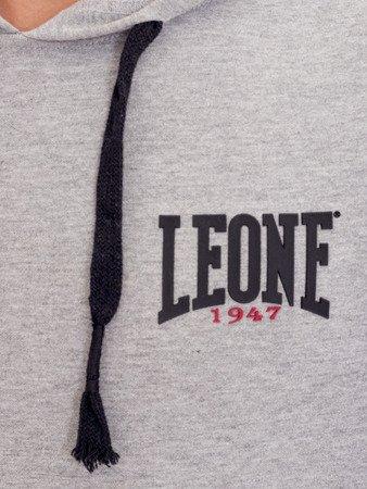 LEONE - BLUZA Z KAPTUREM [LSM1559_szara]