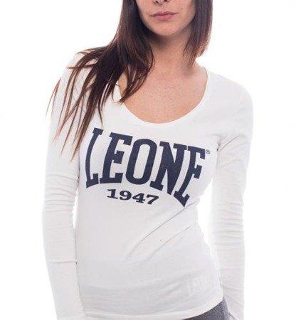 LEONE - T-SHIRT długi rękaw [LW508_biały]