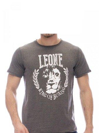 LEONE T-shirt ciemny szary M [LSM1710]