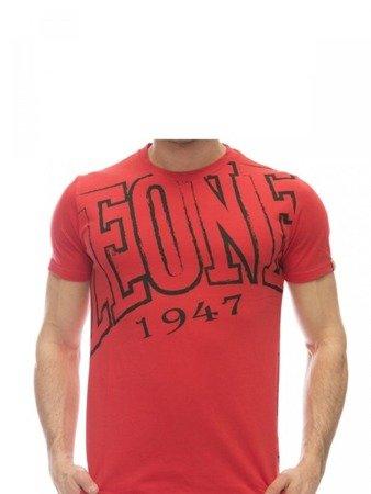 LEONE T-shirt czerwony M [LSM1730]