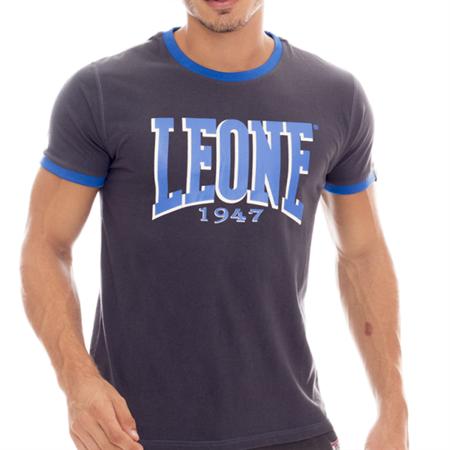 LEONE - TSHIRT [LSM1504_STALOWY]