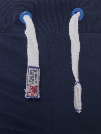 LEONE spodnie dresowe granatowe L [LSM1660]