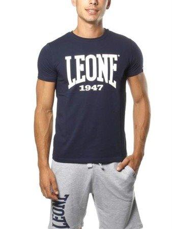 Leone - T-Shirt granatowy