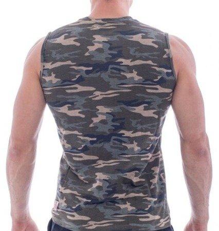Leone - T-shirt (Camo-zielony)
