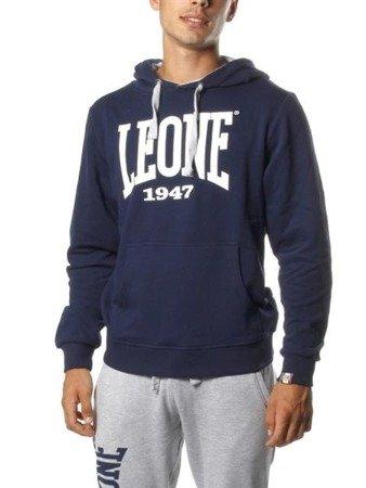 Leone - bluza z kapturem granatowy