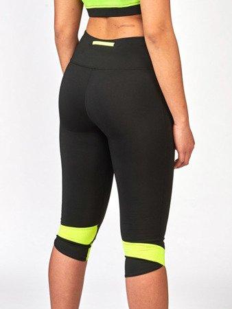 Leone1947 krótkie damskie spodnie treningowe EXTREMA 2.0 CAPRI czarne XS [ABX97]