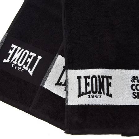 Leone1947 ręcznik treningowy czarny [AC915]