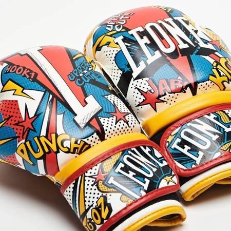 Rękawice bokserskie dziecięce HERO marki Leone1947
